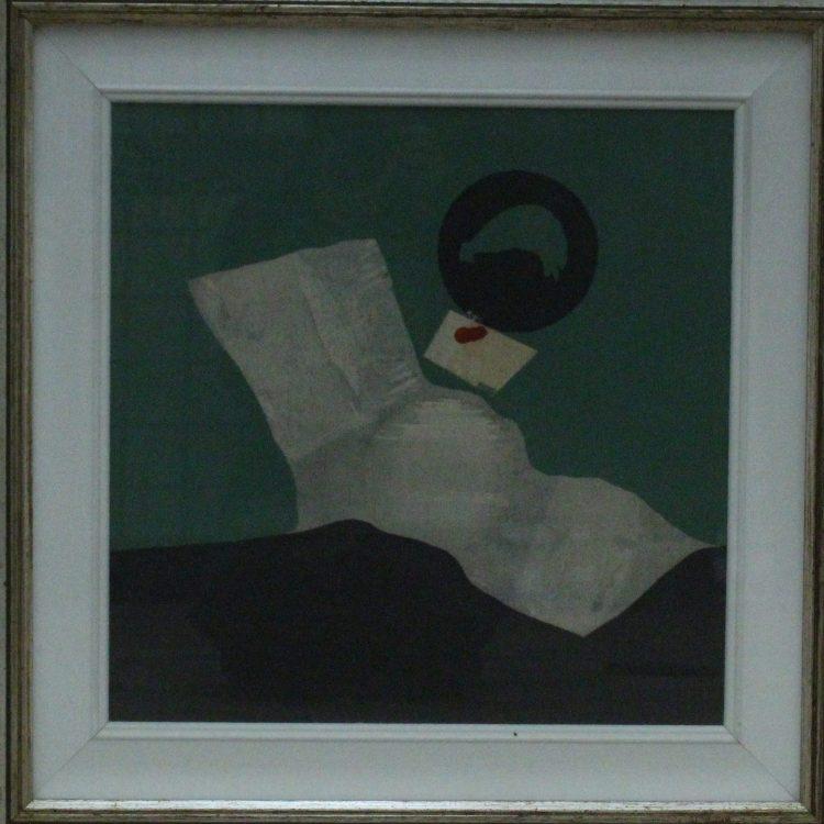 Sergio Dangelo (Italia) 'La pietra etrusca'