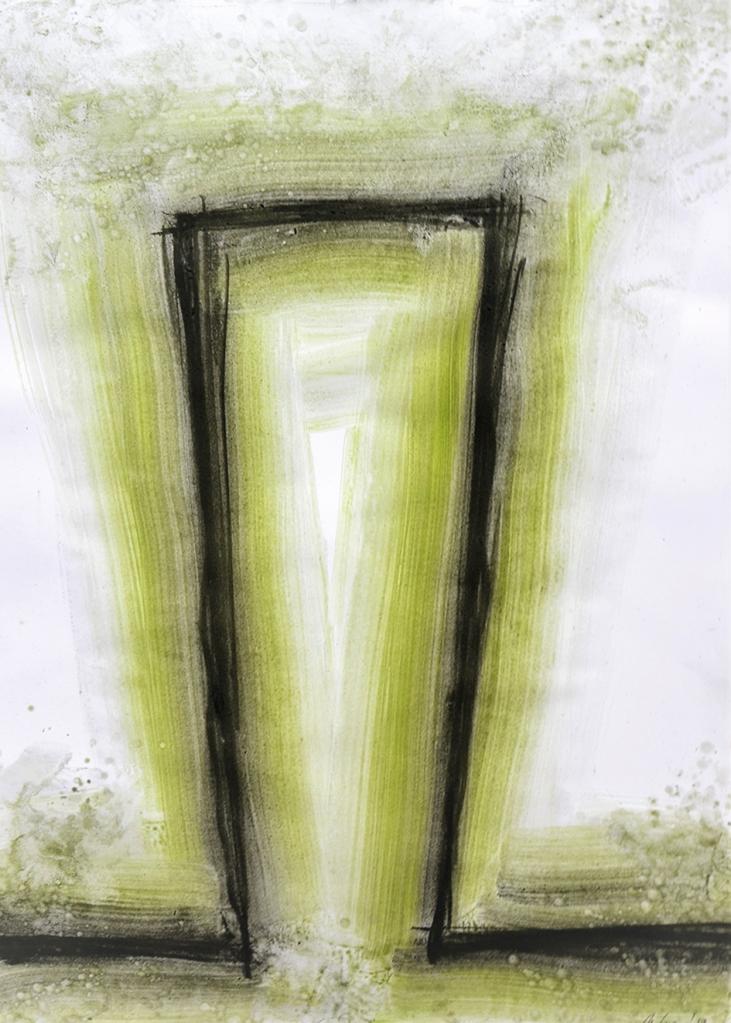 DE LUCA MICHELE-Parvenza II- 2019 cm70x50 d 17