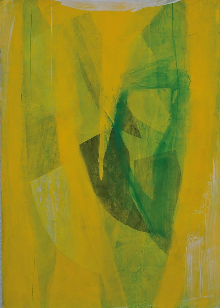DOMINELLI SALVATORE-Fu, ma, 2019, pigmenti su carta, cm 70x50