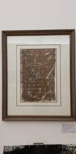 Roberto Senesi -italia- poesia visiva tema dell'origine-