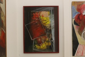 Evelina Marinangeli (Italia) «Astratto rosso»