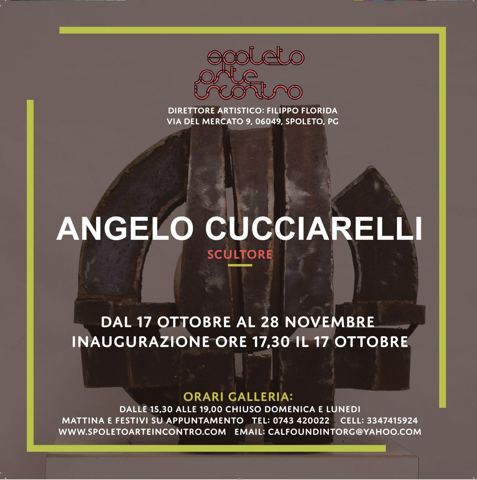 Mostra Angelo Cucciarelli Scultore